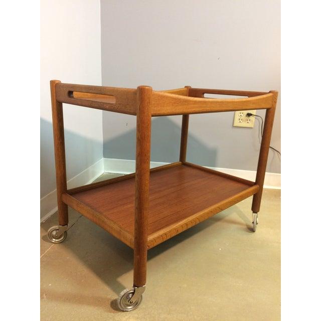 Hans Wegner Danish Modern Bar Cart - Image 3 of 6