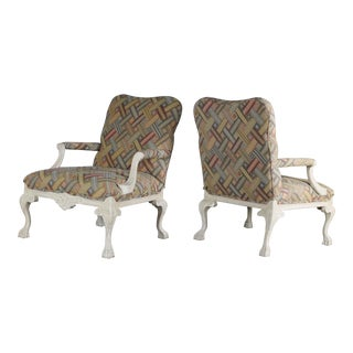 Louis XV Style Arm Chairs - A Pair