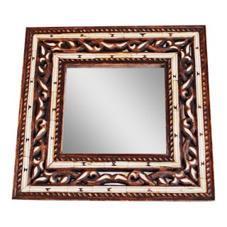 Moroccan Bone Inlaid Mirror
