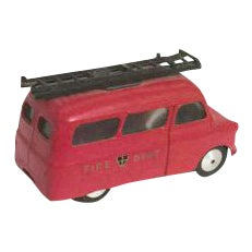 Vintage British Toy Fire Car