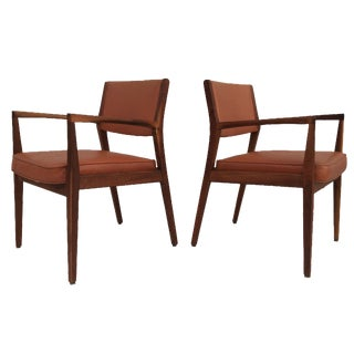 1960s Jens Risom-Style Armchairs - A Pair