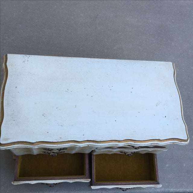Image of 1960's French Provincial Jewelry Box