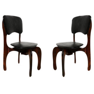 Pair of Don Shoemaker Cocobolo Chairs