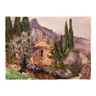French Mountain Church, C. 1930 by Raoul Monory