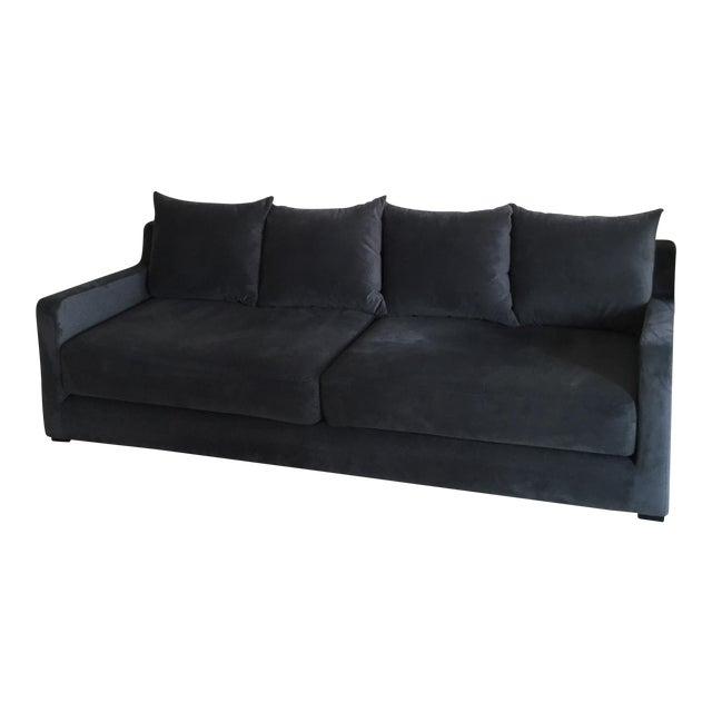 Gus* Modern Flipside Velvet Sofa - Image 1 of 10