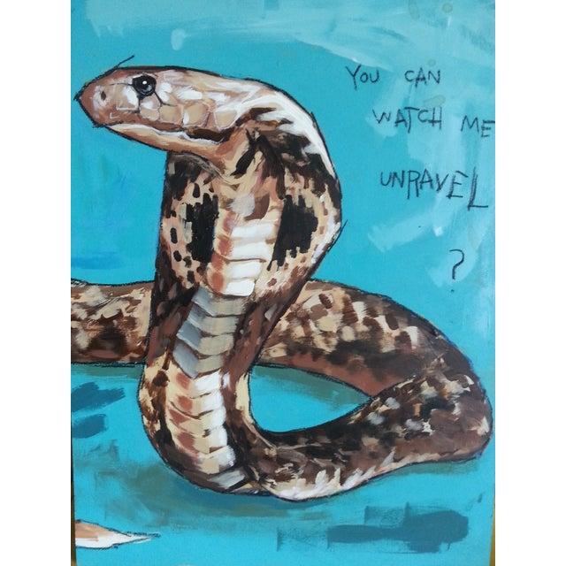 Image of Original Acrylic Painting - Rikki Tikki Tavi