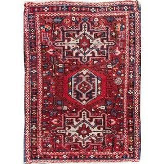 "Apadana - Vintage Persian Heriz Rug, 2' x 2'10"""