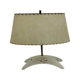 Royal Haeger Mid-Century Atomic Ceramic Lamp