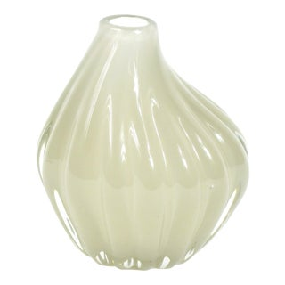 Mid-Century Blown Glass Bud Vase