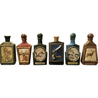 Limited Edition Jim Beam Decanters - Set of 6