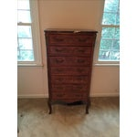 Image of Vintage French Marble Top Lingerie Chest