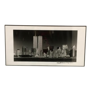 Twin Towers NYC Framed Photograph