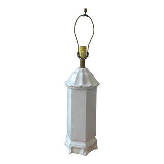 Blanc De Chine Pagoda Lamp