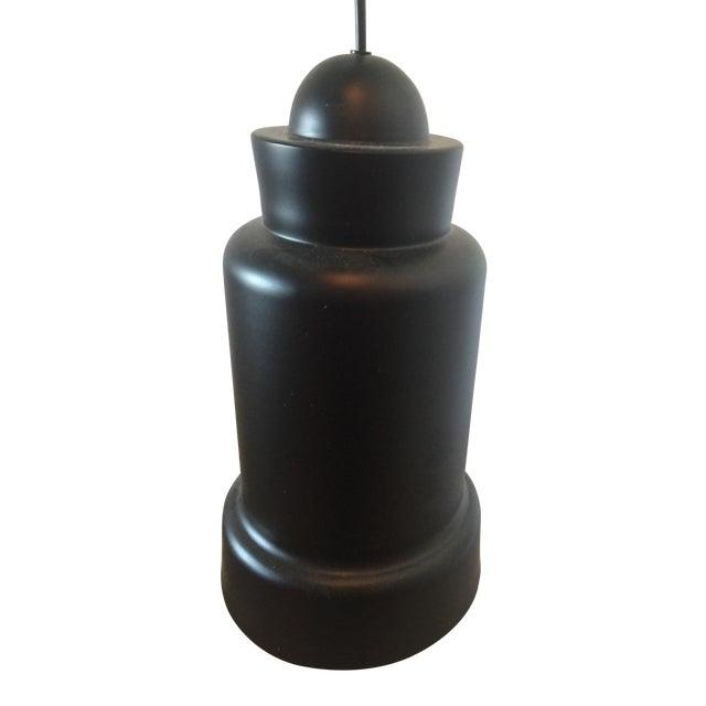 Image of Industrial Black & Gold Avesta Pendants - Pair