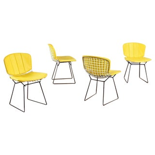 Harry Bertoia for Knoll Wire Chairs - Set of 4