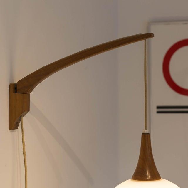 Image of Mid Century Danish Modern Wall Sconces - Pair