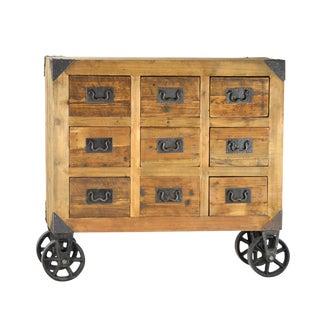 Industrial Wood & Iron Dresser