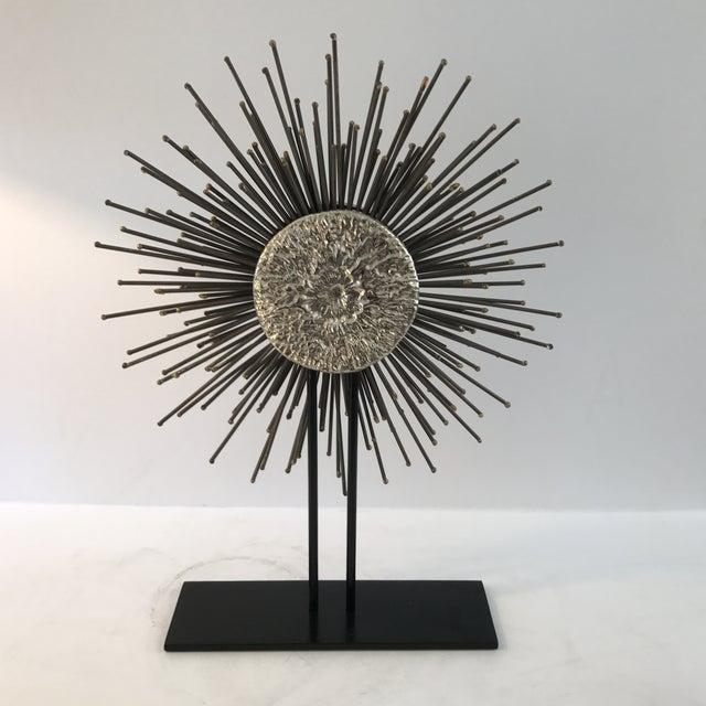 Modern Sunburst Sculpture - Image 2 of 6