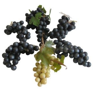 1950s Rubber Grape Clusters - Set of 6