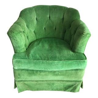 Emerald Green Vintage Swivel Chair X 2