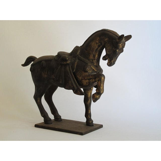 Image of Chinese Ceremonial Metal Horse
