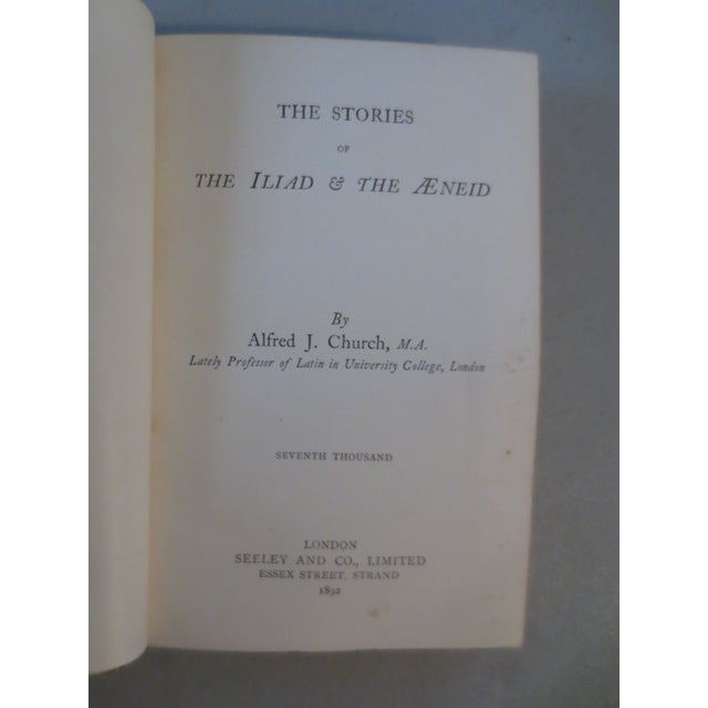 Antique 'Stories of the Iliad & the Aeneid' Book - Image 6 of 8