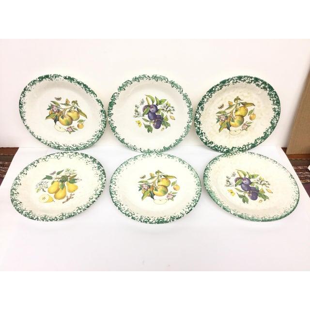Italian Tre Ci Fruit Plates - Set of 6 - Image 2 of 11