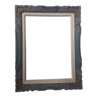 Painted Grey French Carved Frame
