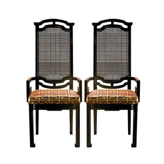 Chinese Style Armchairs - Pair