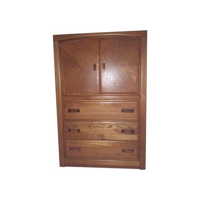 Image of Joltz Oak Three-Drawer Dresser
