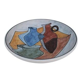 Vintage Danish Soholm Decorative Art Plate