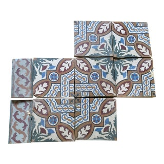 Reclaimed Decorative Solomon's Knot Tiles