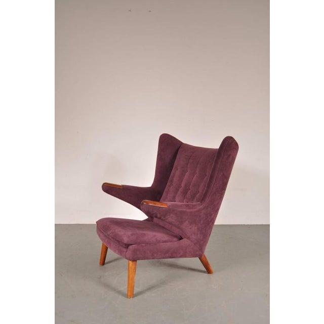 """""""Papa Bear"""" Chair by Hans J. Wegner for A.P. Stolen, Denmark, circa 1950 - Image 2 of 8"""