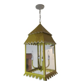 Stray Dog Designs Chartreuse Hanging Lantern