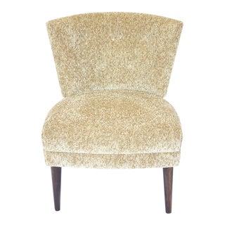 Original Hollywood Regency Kroehler Slipper Chair
