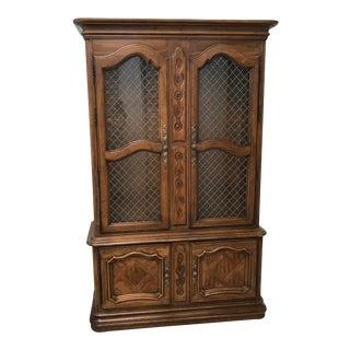 Vintage Drexel Cabernet Cabinet