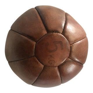 5Kg Leather Sports Medicine Ball