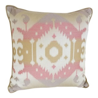 Ikat Tribal Accent Pillow