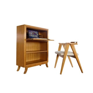 Gilbert Rohde Secretary Desk & Chair