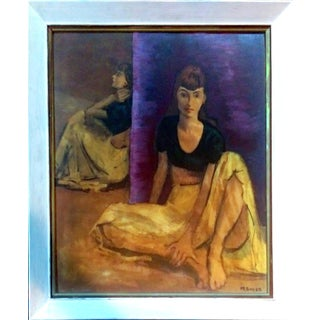 Moses Soyer Dancers at Rest Lithograph
