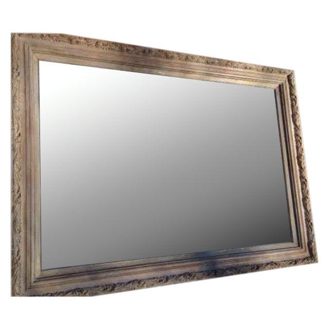 Ornate Wood Framed Beveled Mirror - Image 1 of 7