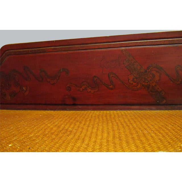 Antique Chinese Opium Daybed - Image 7 of 10