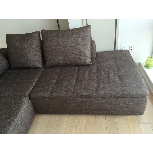 boconcept mezzo corner sofa chairish. Black Bedroom Furniture Sets. Home Design Ideas