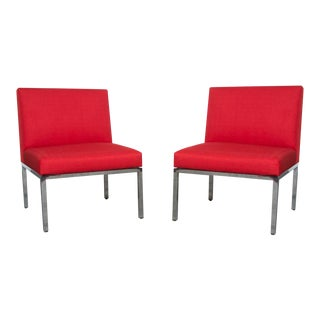 Artifort Armless Lounge Chairs / Sectional Pieces - Pair