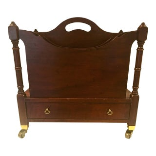 Pennsylvania House Mahogany Magazine Rack