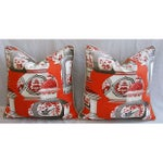 Image of Custom Braemore Chinoiserie Vase Pillows - Pair
