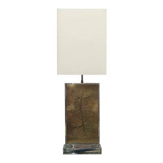 Roger Vanhevel Signed Table Lamp