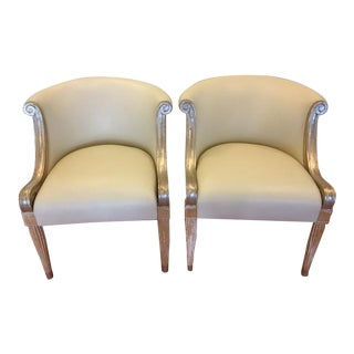Sally Sirkin Lewis for J. Robert Scott Chairs - Pair