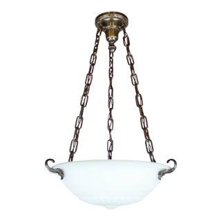 Colonial Revival Lennox Glass Bowl Fixture
