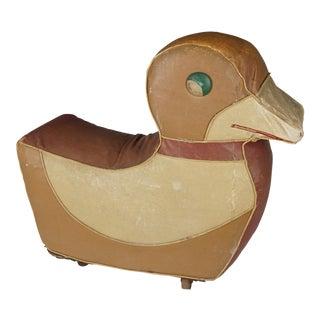 Relaxon Art Deco Duck Footstool Hassock